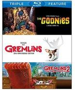 Goonies/Gremlins/Gremlins 2 (Blu-ray Disc, 2013, 3-Disc Set) - $5.95