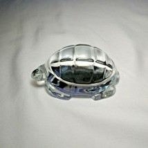 Baccarat Crystal Turtle. Spectacular Heavyweight Beauty - $149.50