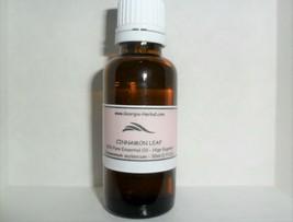 Cinnamon Leaf Essential Oil 100%  Essential Oil  Therapeutic U pick Size image 1