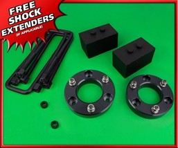 "Full 3"" Front + Rear Strut Spacer Lift Kit For 2004-2020 Ford F150 2WD 4... - $155.75"