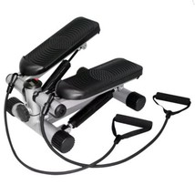 Sunny Health & Fitness Mini Stepper with Resistance Bands - $54.44