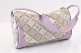 MCM Canvas Hand Bag Pink Auth ar874 - $70.00