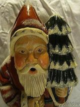 Vaillancourt Woodland Santa with Gold Lantern signed by Judi Vaillancourt image 5