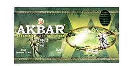 Akbar Premium Quality Green Tea 100 teabags - $22.00