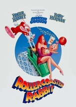 Walt Disney   Roller Coaster Rabbit Movie Poster  2.5 x 3.5 Fridge Magnet - $3.99
