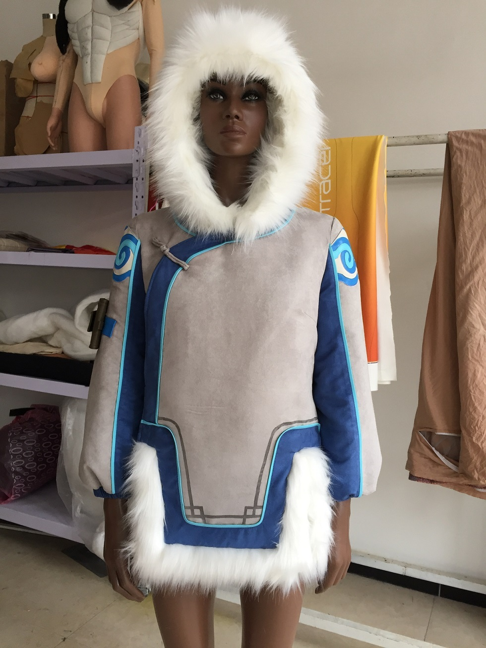 Overwatch Mei Cosplay Costume Buy, Overwatch Mei Cosplay Outfit for Sale