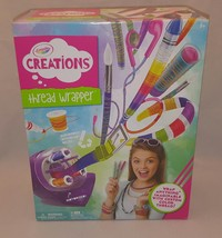Crayola Thread Wrapper New in Box Girls Fun Toy Colorful Wrapping Repurp... - $17.75
