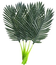 Warmter 5Pcs/22 Artificial Palm Leaves Tropical Plant Party Decorations ... - $12.98