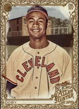 2019 Topps Allen and Ginter Gold Hot Box #359 Larry Doby SP Short Print ... - $4.95