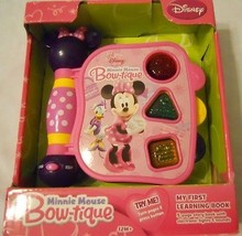 Discovery Toys Educational Learning Book Disney Minnie Mouse Girl - $15.98