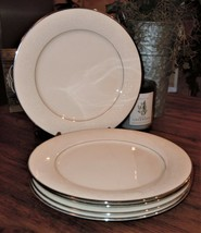 """5 Piece Noritake Marseille 7550 Ivory China Dinner Plates 10.5"""" *CHIP IN... - $49.49"""