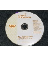 Anita Goodesign Embroidery Designs (CD ONLY) ALL ACCESS VIP Club SEPTEMB... - $23.75