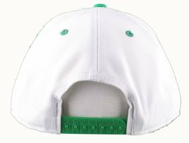 Flat Fitty Hashtag Fresh Wiz Khalifa Green White Snapback Baseball Hat Cap NWT image 6
