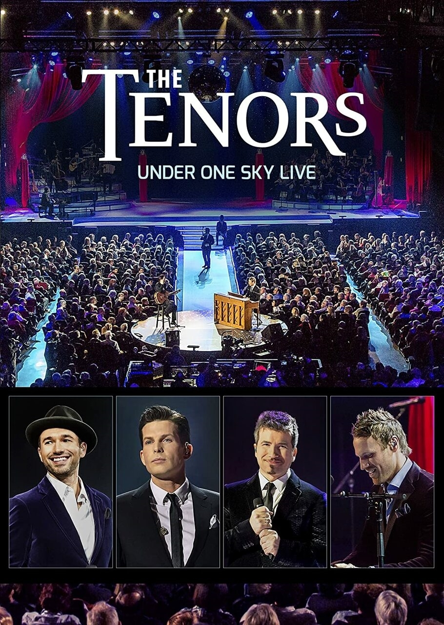 Under one sky live   dvd by the tenors