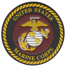 USMC Official EGA PVC Patch with velco - $11.87