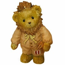 Cherished Teddies bear figurine avon exclusive Wizard of Oz Cowardly Lio... - $28.98