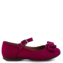 Girl's Tropicana flamingo pink Mary Jane bow Dress Shoe toddler - $33.98