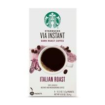 Starbucks VIA Instant Italian Roast Coffee Dark Roast Packets Best By 03/2020 - $9.89