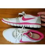 Nike Free 3.0 Women's Size 10 no insoles 2008 354749-161 White Pink - $31.92
