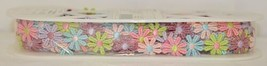 Simplicity 176055022002 Large Rainbow Daisy Venice Lace Trim 10 Yards Long image 1