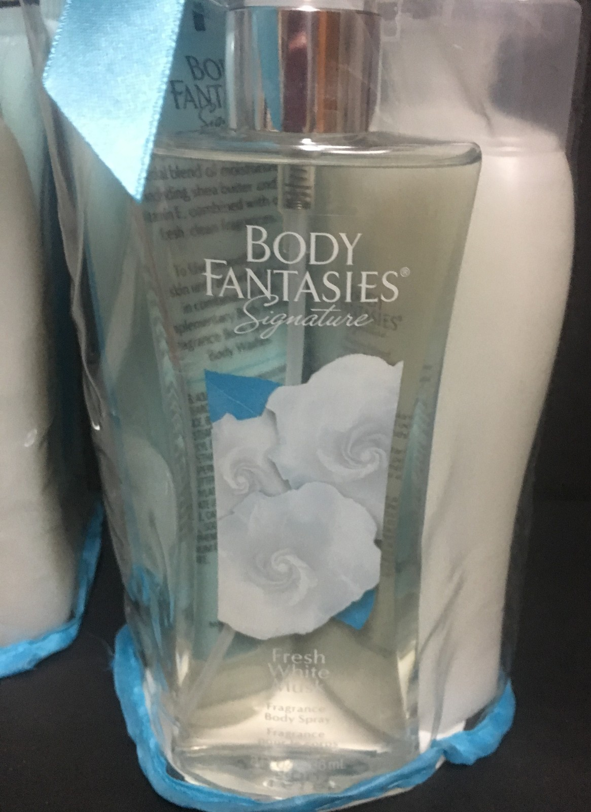 Body Fantasies White Musk Full Size Gift Sets Lot of 4