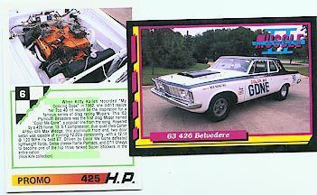 1963 63 PLYMOUTH 426 BELVEDERE RARE PROMO COLLECTIBLE