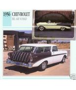 1956 56 CHEVROLET CHEVY BEL AIR NOMAD COLLECTIBLE - $7.25