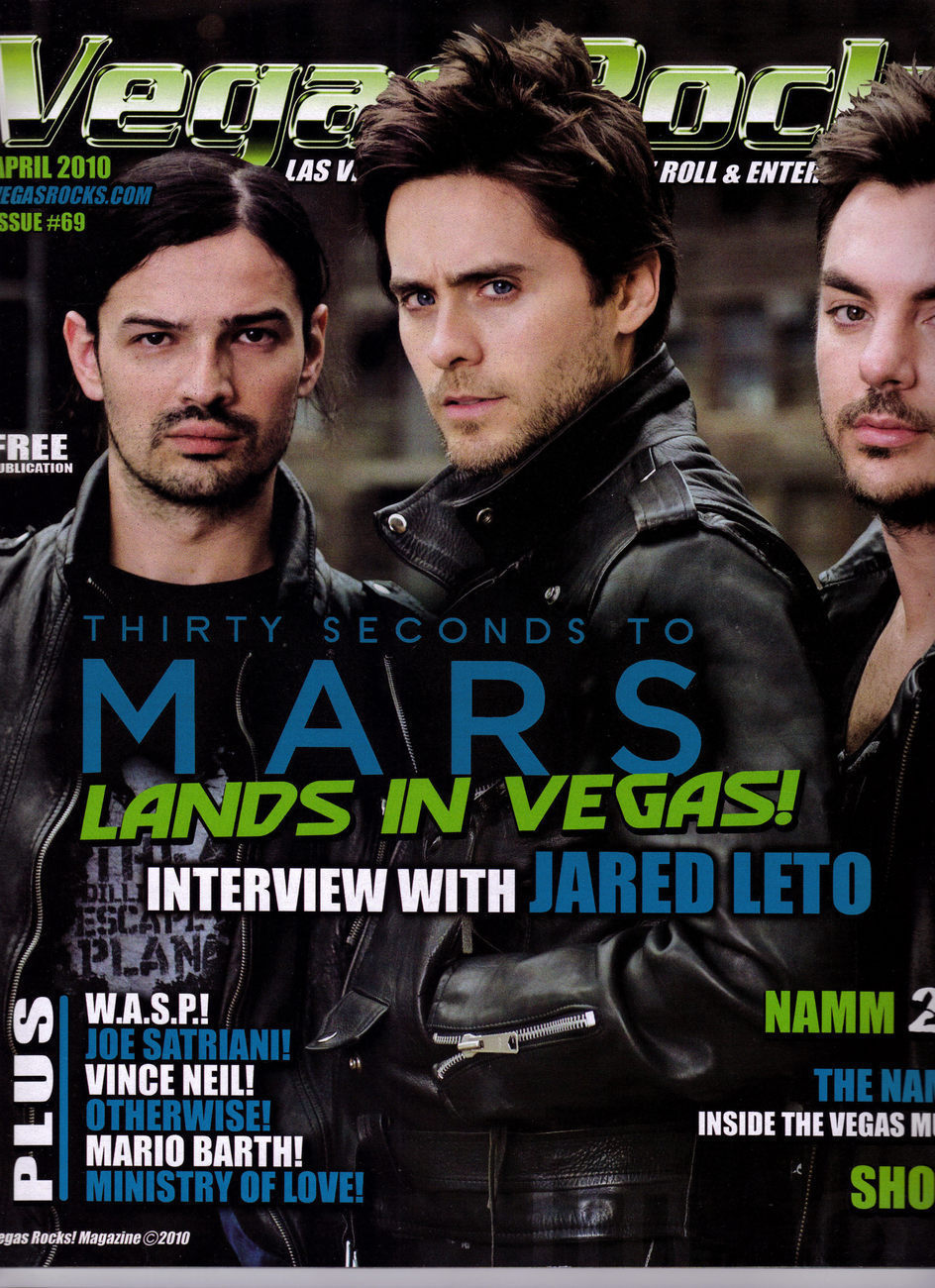Primary image for Vegas Rocks: 30 Seconds To Mars Interview w/ Jared Leto