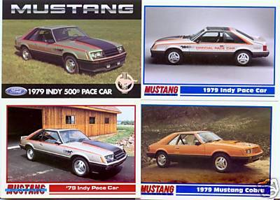 1979 79 FORD MUSTANG INDY PACE COBRA COLLECTIBLE NICE