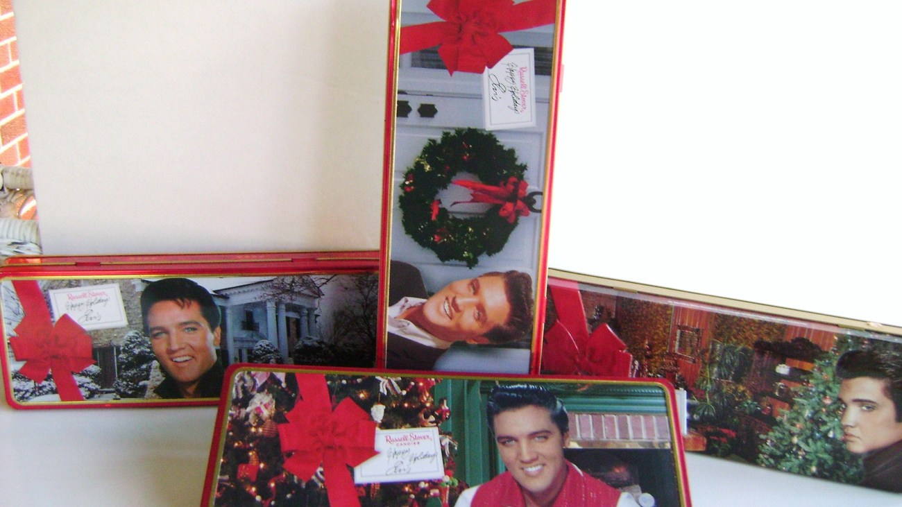 Elvis Presley Collectible Tins