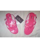 """Floriane"" fushia colored sandal..Size 6..Buckle strap - $9.99"