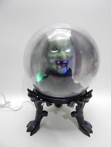 Gemmy Large Animated Talking Halloween Witch Spirit Ball Lights Sound Mo... - $34.64