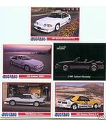 1988 1989 1990 FORD MUSTANG SSC SALEEN COLLECTOR CARDS - $7.50
