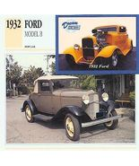 1932 32 FORD MODEL B COLLECTOR CUSTOM - $7.25
