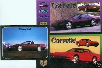 1993 93 CHEVROLET CHEVY CORVETTE 4OTH VETTES COLLECTOR