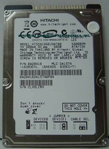 "NEW 60GB IDE 44PIN 2.5"" 9.5MM drive Hitachi HTS541660J9AT00 Free USA Ship"