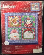 Janlynn Counted Cross Stitch Christmas Holiday Wishes Banner KIT 079-0036 - $16.82