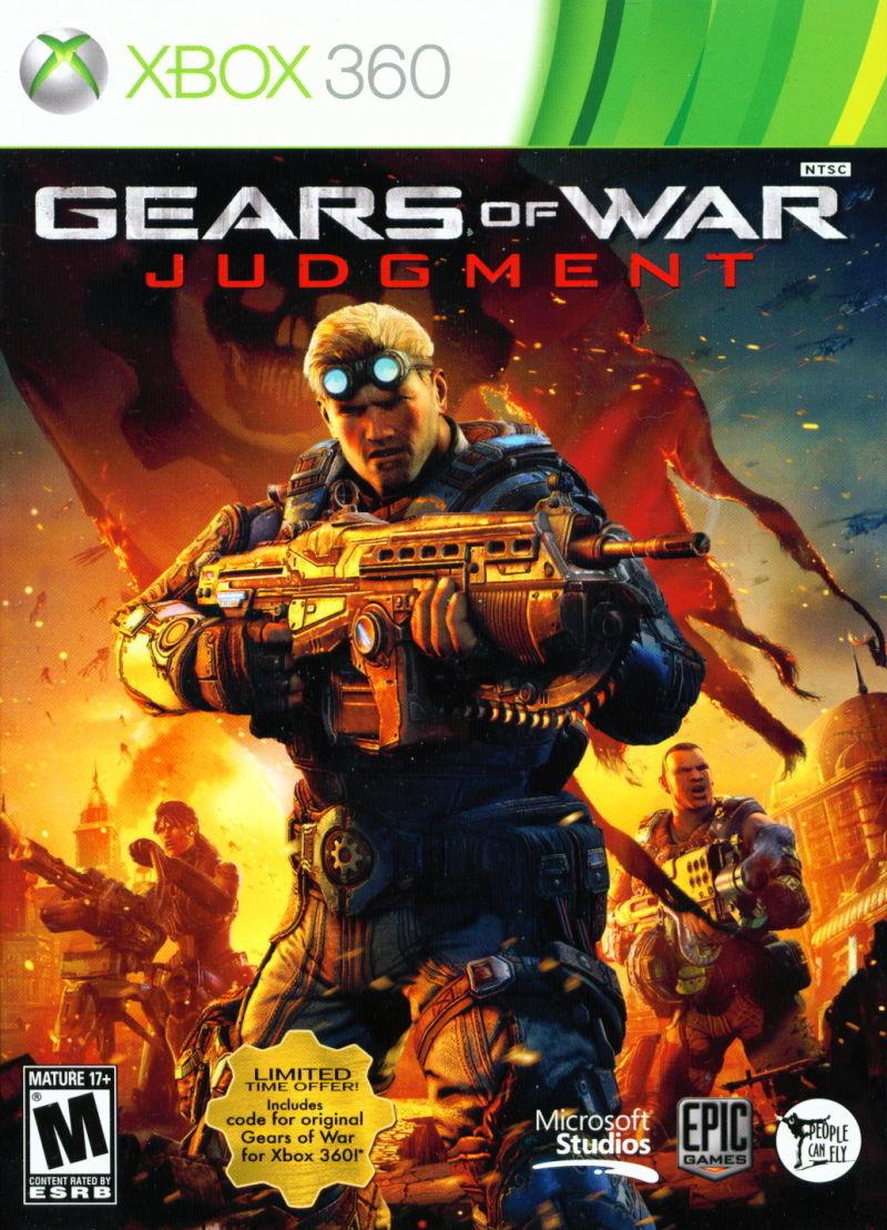 Gears of war judgment w bonus 360