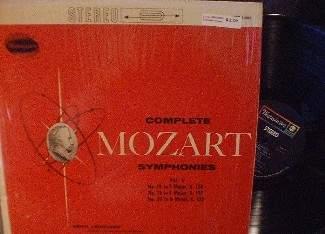 Erich Leinsdorf - Complete Mozart Symphonies Vol V - Westminster WST 14097