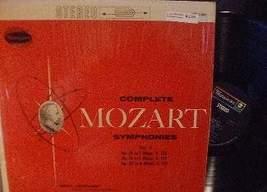 Erich Leinsdorf - Complete Mozart Symphonies Vol V - Westminster WST 14097  - $4.00