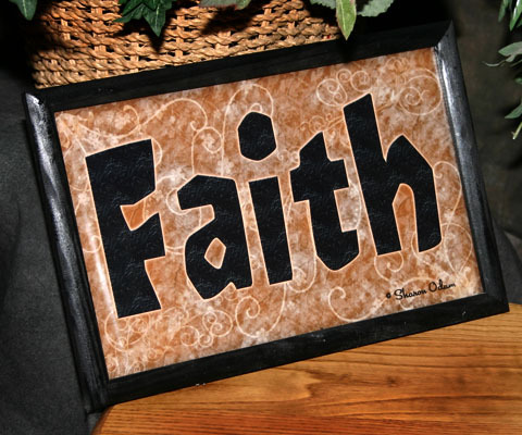 Faith - Framed Wall Decor
