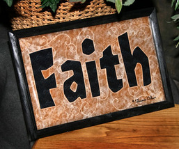 Faith - Framed Wall Decor - $12.00
