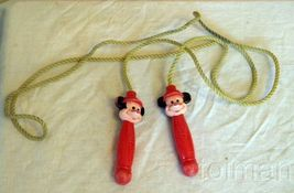 Vintage Arco Mickey Mouse plastic handle jump rope - $15.00