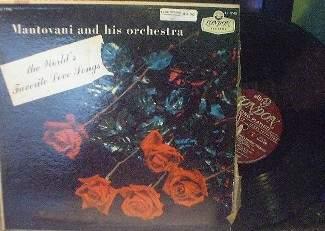 Mantovani - The World's Favorite Love Songs - LL 1748