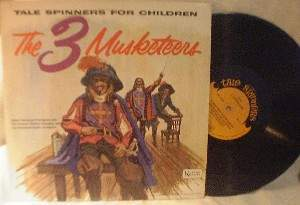 Tale Spinners for Children - The 3 Musketeers - United Artists UAC 11007