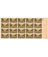 934 U.S Army Liberation Of Paris 3c Stamp Block NH OG 1945 Vintage - $5.29 CAD