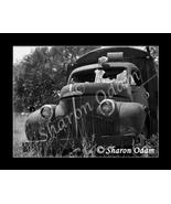 Old Truck - MS0054BW - Fine Art Print - $17.50