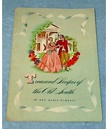 Treasured Recipes of the Old South Marie Kimball Cookbook 1941 - $4.00