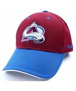 Colorado Avalanche Reebok TZM13 NHL Hockey Team Logo Stretch Fit Cap Hat... - $20.85