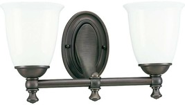 Bathroom Vanity Lighting 16-5/8 in. W 2-Light Down-Up Direction Venetian... - €164,48 EUR